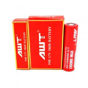 AWT-18650-40A-Battery-2PK-3000mah-Red