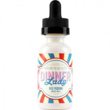 Dinner Lady E-Liquids - Rice Pudding