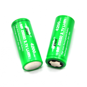 Efest Green IMR 26650 20 / 50 A 4200mAh flat top battery
