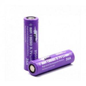 Efest IMR 18650 35A 2800mAh (2 Pack - Purple)