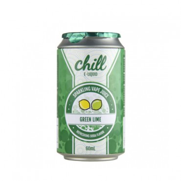 Naked100 Chill E-Liquid - Green Lime 60ml