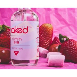 Naked100 E-Liquid - Yummy Gum 60ml