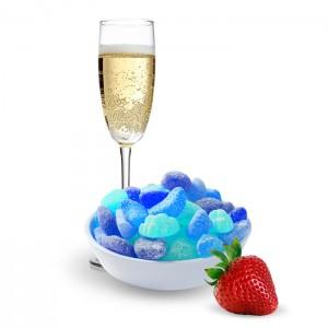 Straw-Bubbly Blue Vape Juice (30ML)