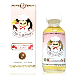 Strawberry Cream by Mr. Macaron E-liquid (60ML)
