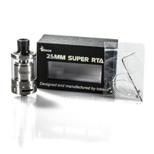 Tobeco Super Tank RTA 25mm