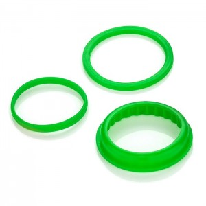 VF Rubber Green O-rings (3 pack) (Default)