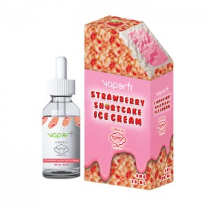 VaporFi Strawberry Shortcake Ice Cream Crafted by Cosmic Fog