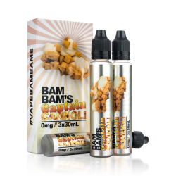 Bam Bam's Cannoli Captain Cannoli E-liquid (90mL)