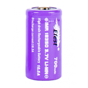 Efest 18350 700mah button top 15A (Purple)