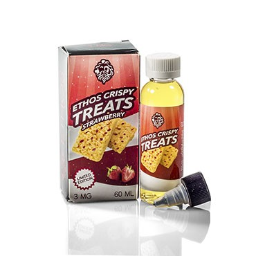 Ethos Vapors 60ml E-Liquid - Strawberry Crispy