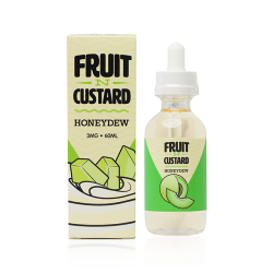 Fruit N Custard Honeydew E-liquid by Vapetasia (60ML)