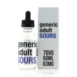 Generic Adult Sours Berry E-liquid (60ML)
