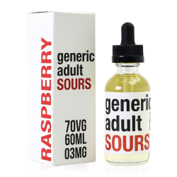 Generic Adult Sours Raspberry E-liquid (60ML)
