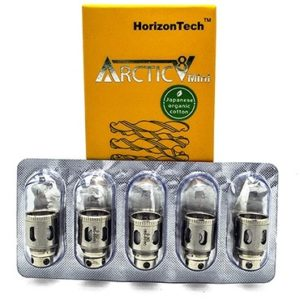 Horizon Arctic V8 Mini Tiger Coil 5 Pack - 0.3 ohm