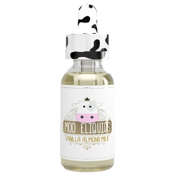 Moo E-Liquids Vanilla Almond Milk E-Liquid (30ML)