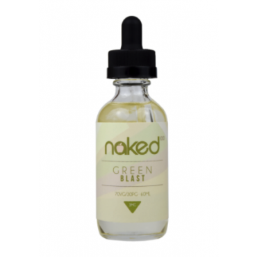 Naked100 60ml E-liquid - Green Blast