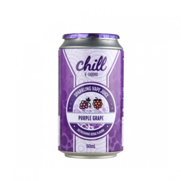 Naked100 Chill E-Liquid - Purple Grape 60ml