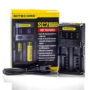 Nitecore SC2 2 Bay Charger - 2000mAh in 1.5 hours!! MUST Check Out!