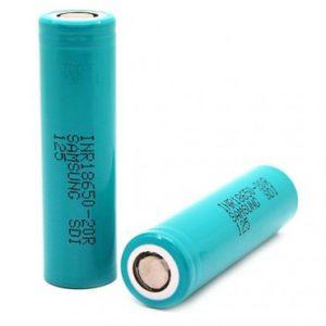 Samsung 18650 2000mAh 20R (2 Pack - Teal)