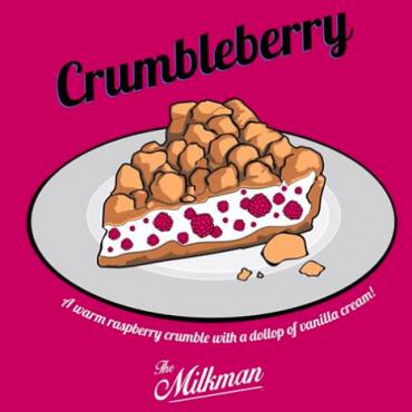 The Milkman E-Liquid - Crumbleberry