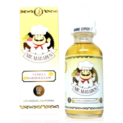 Vanilla Marshmallow by Mr. Macaron E-liquid (60ML)