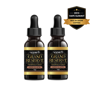 VaporFi Grand Reserve Catch Ya Latte Vape Juice Bundle (60 ML)