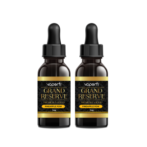 VaporFi Grand Reserve Pineapple Pow Vape Juice Bundle (60 ML)