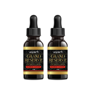VaporFi Grand Reserve Rainbow Custard Vape Juice Bundle (60 ML)