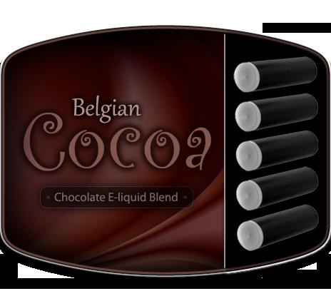 Belgian Cocoa Cartomizers