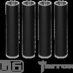 Jet Black (XL) Blanks