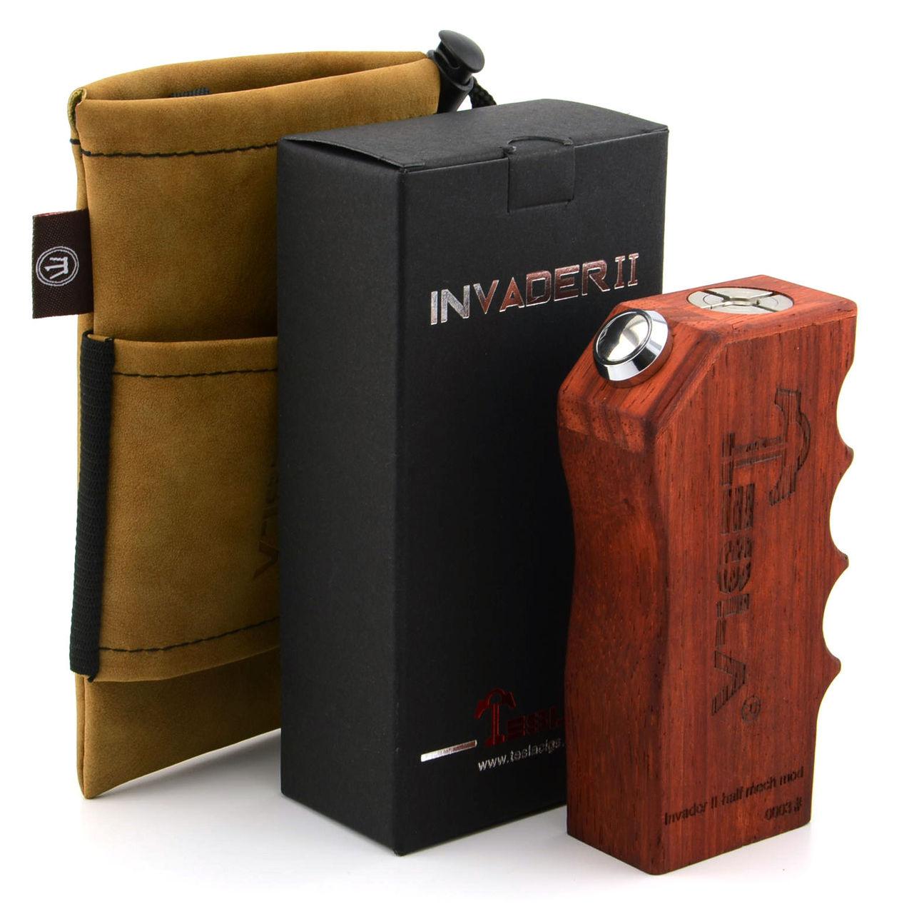 Tesla Invader II Rosewood Box Mod
