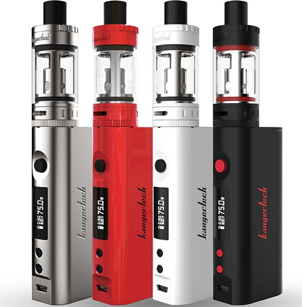 KangerTech TOPBOX Mini 75W TC Starter Kit with Toptank Mini - 4ml