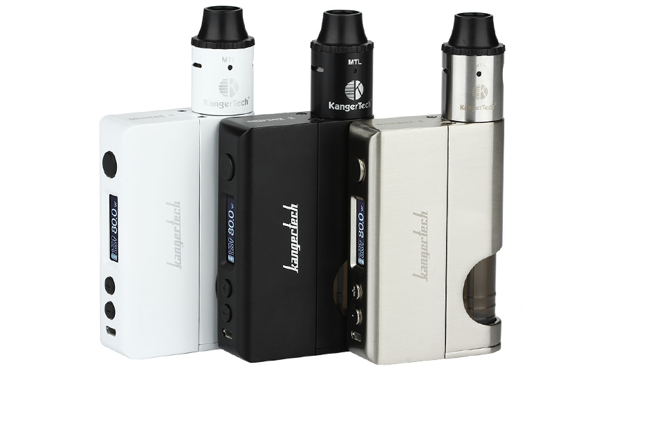 KangerTech DripBox 2 Starter Kit with Press RBA Subdrip Tank- 7.0ml