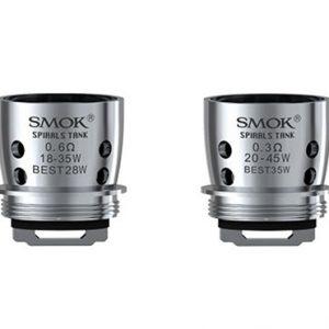 SMOK Spirals Dual Core Coils 0.3/0.6ohm - 5pcs/pack