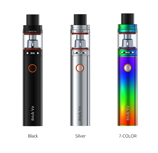 SMOK STICK V8 Starter Kit with TFV8 Big Baby Tank - 5.0ml & 3000mAh