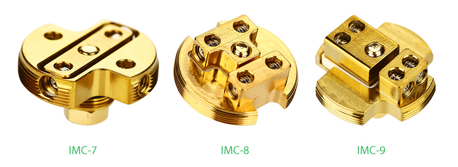 IJOY LIMITLESS RDTA/COMBO Gold-plated Building Deck IMC-7/8/9- 1pcs/pack