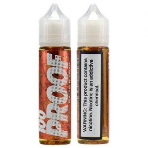 100 Proof Vape Co - Peaches n??? Cream - 60ml - 60ml / 0mg