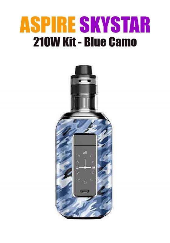 Aspire SkyStar Revvo Kit (210W 3.6ML 0.10/016ohm) - Blue Camo