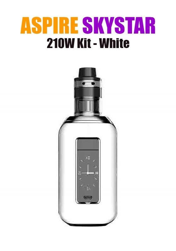 Aspire SkyStar Revvo Kit (210W 3.6ML 0.10/016ohm) - White
