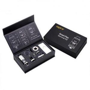 Aspire Quad-Flex Survival Kit - Black