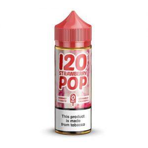 Mad Hatter Juice - 120 Strawberry Pop - 120ml / 0mg
