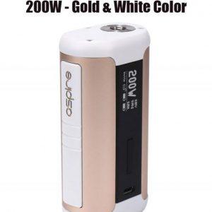 Aspire Speeder 200W Mod - Gold & White