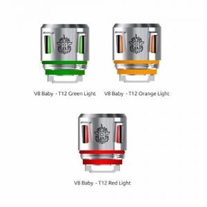 Smok V8 Baby Beast Prince T12 Light Coil - Red