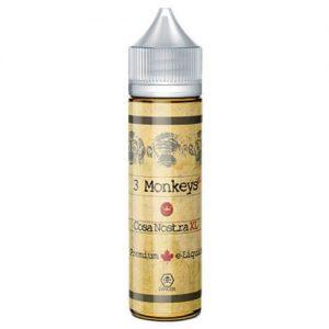 3 Monkeys Premium E-Liquids - Cosa Nostra - 60ml - 60ml / 3mg