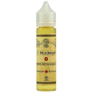 3 Monkeys Premium E-Liquids - Sweet Savannah - 60ml - 60ml / 3mg
