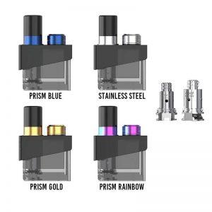 Smok Trinity Alpha Pod & Coils - Stainless Steel