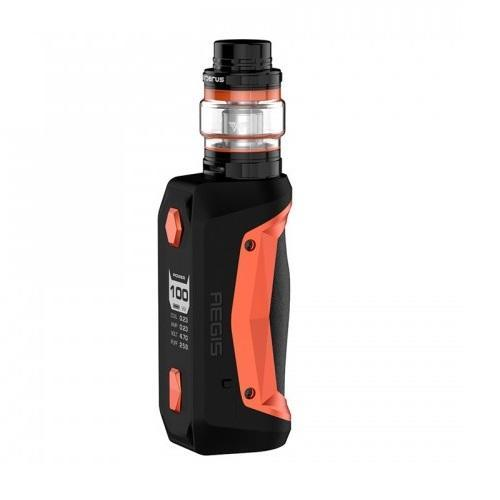 GeekVape Aegis Solo 100W Full Kit - Black Orange