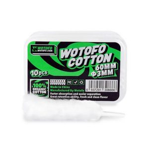 Wotofo Agleted Organic Cotton - 3mm