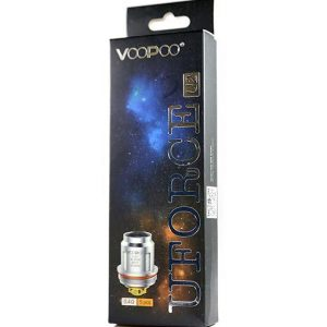 VooPoo Uforce Coils 5-Pack - P2 Single Mesh 0.6 ohm