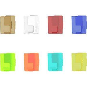 Vandy Vape Pulse BF Box Mod Panels - Transparent Cyan